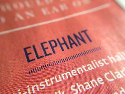 Elephant Hotpress Magazine